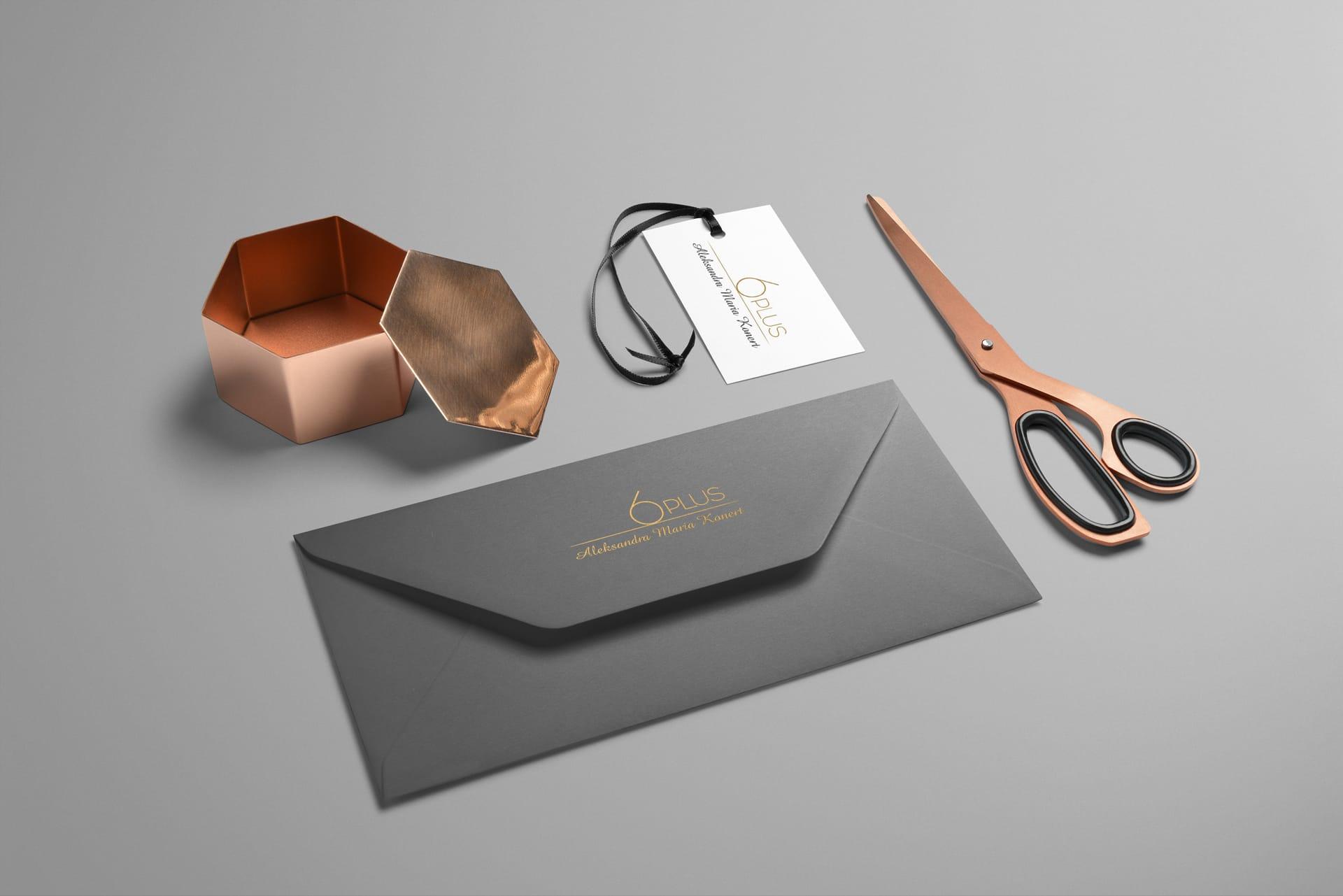 6plus logo firmowe projektowanie Agencja brandingowa Moweli Creative