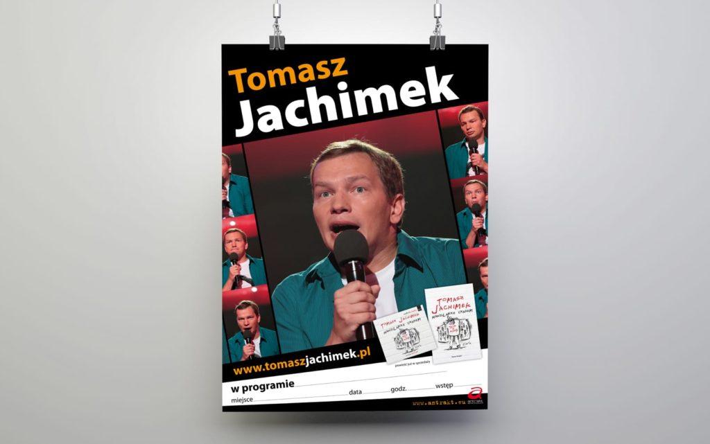 Antrakt Tomasz Jachimek plakaty reklamowe
