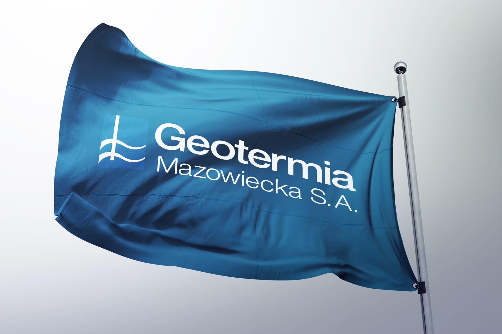 Geotermia Mazowiecka SA rewitalizacja logo firmowego Agencja brandingowa Moweli Creative