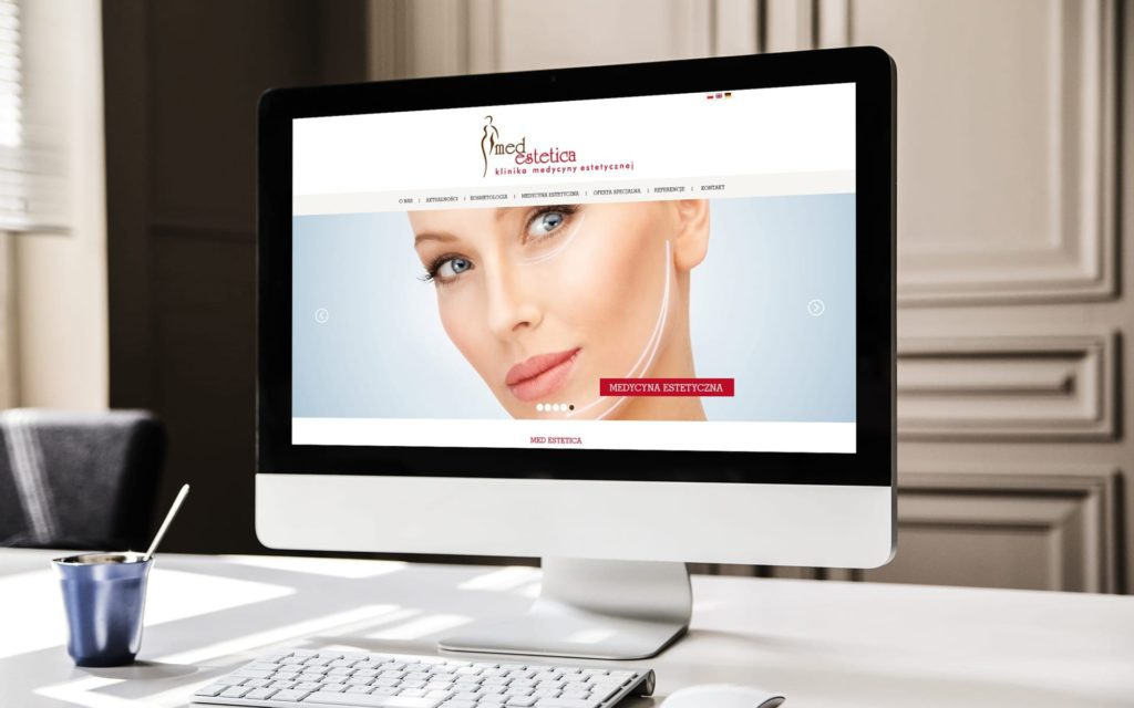 Med Estetica strona internetowa
