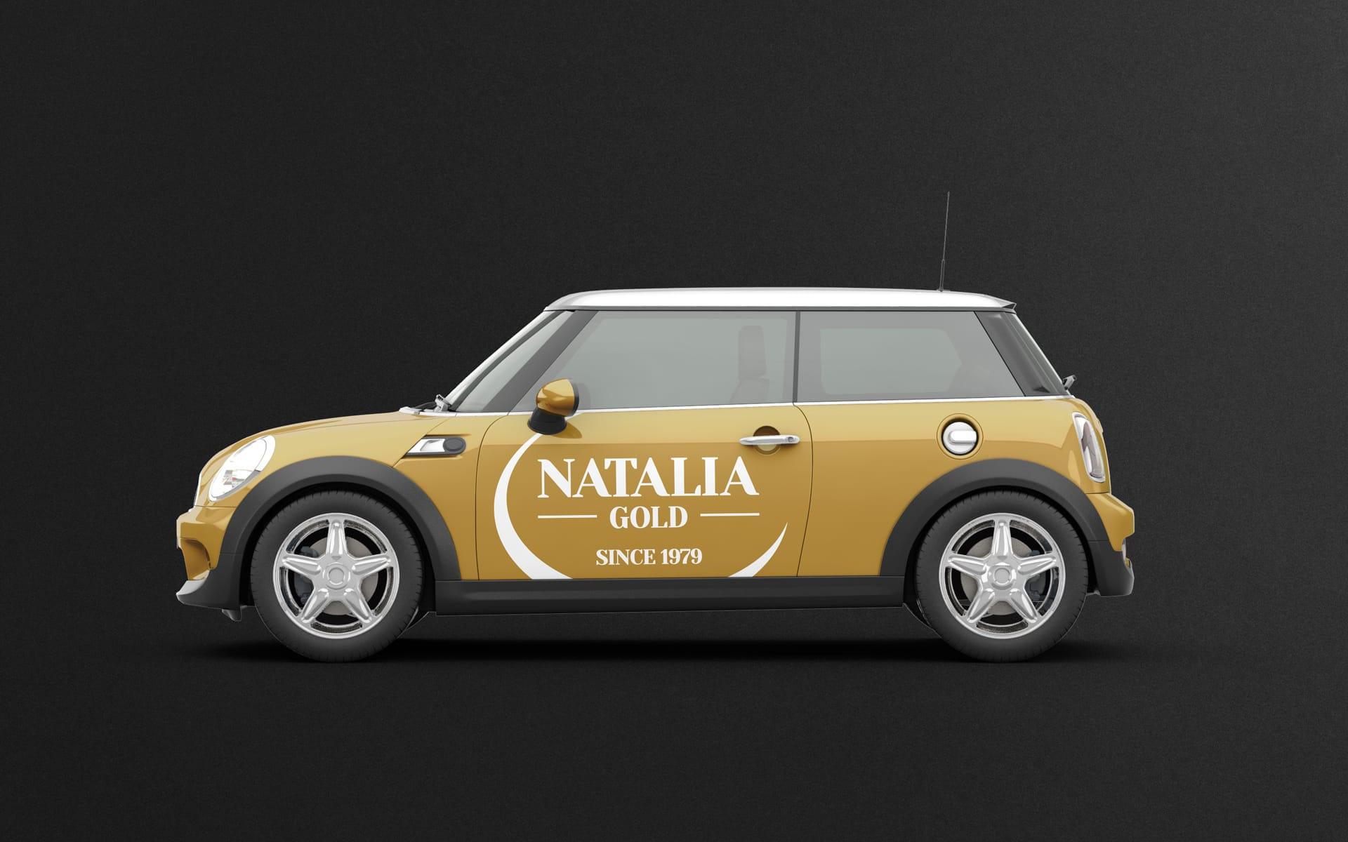 Natalia Gold logo firmowe Agencja brandingowa Moweli Creative Dąbrowa Górnicza Katowice Kraków Wrocław Warszawa