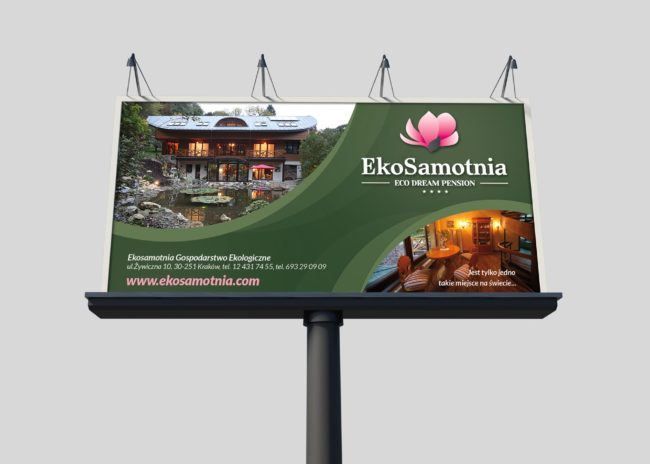 Pensjonat Ekosamotnia billboardy
