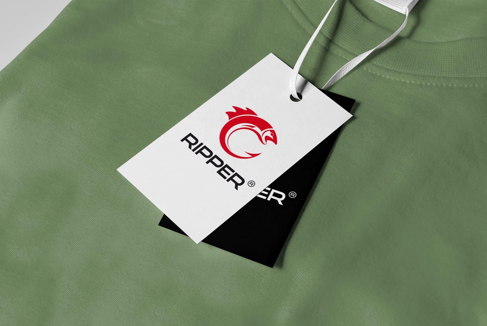 Ripper projektowanie logo firmowego marki Agencja brandingowa Moweli Creative