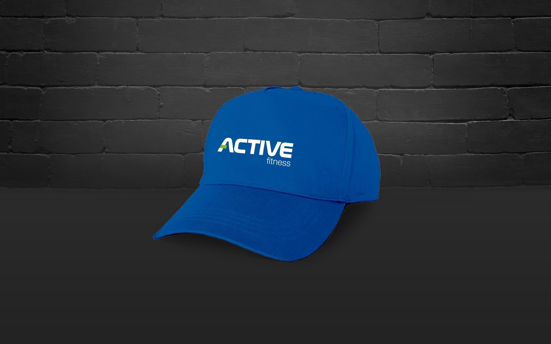 Active Fitness logo firmowe Agencja brandingowa Moweli Creative
