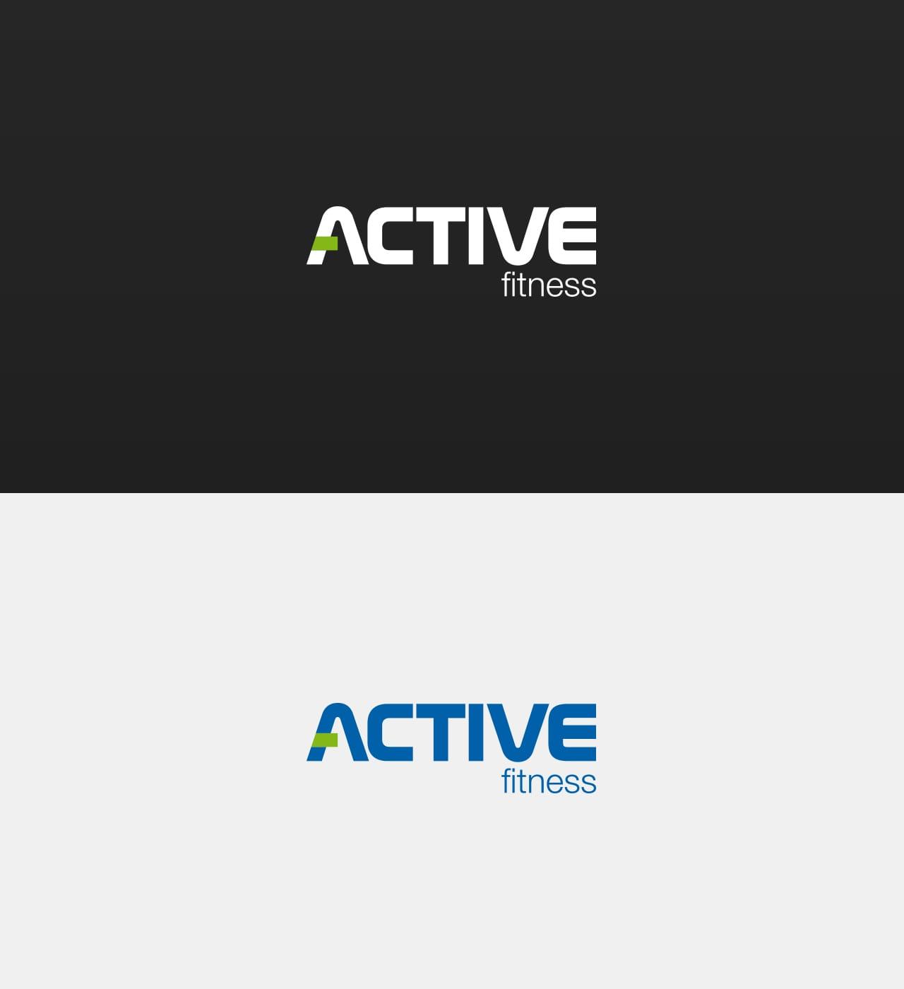Active Fitness rewitalizacja logo firmowego Agencja brandingowa Moweli Creative