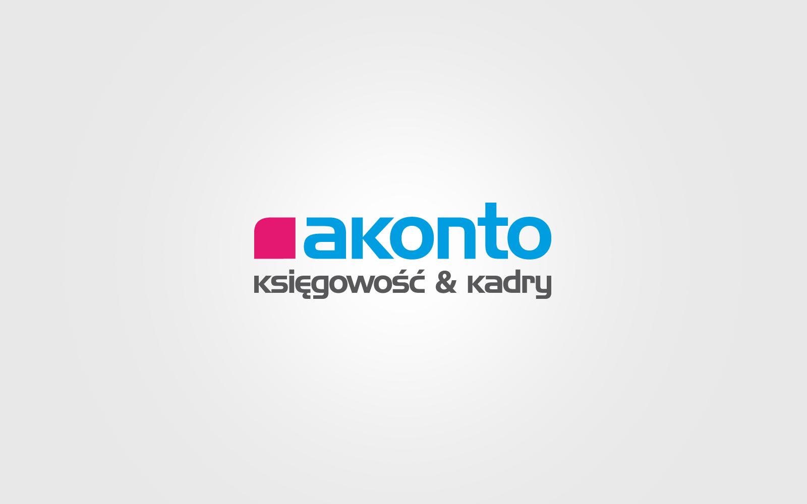 Akonto logo firmowe agencja brandingowa moweli creative