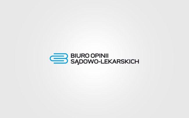 Biuro Opinii Sadowo Lekarskich projektowanie logo firmy znaków firmowych księgi znaku rewitalizacje rebranding logo Agencja brandingowa Moweli Creative