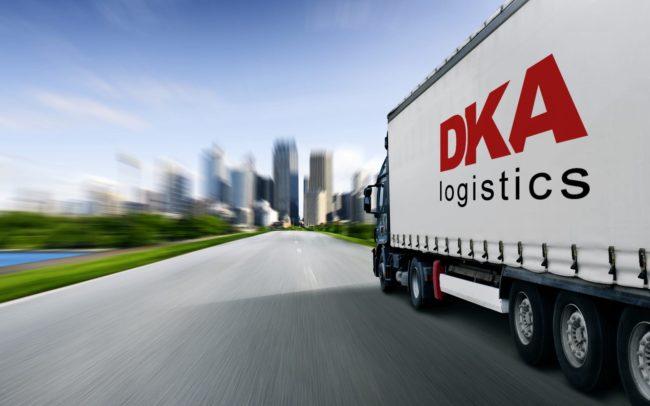 DKA Logistics strona internetowa