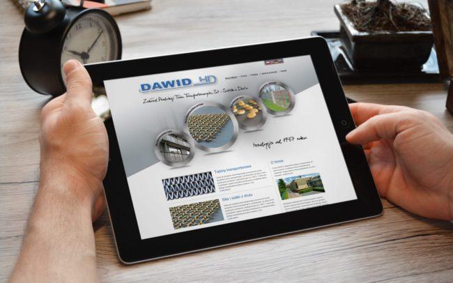 Dawid HD strona internetowa