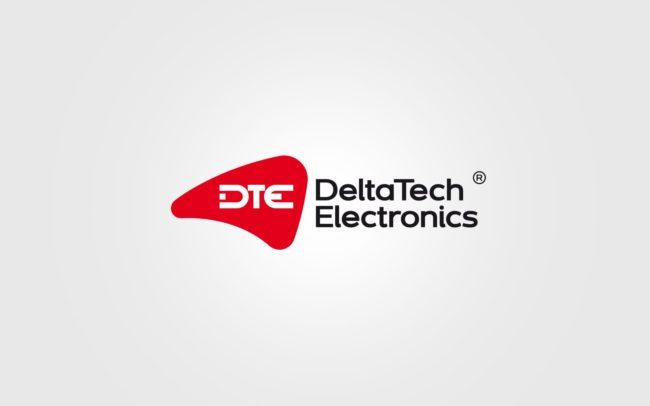 DeltaTech Electronics projektowanie logo firmy znaków firmowych księgi znaku rewitalizacje rebranding logo Agencja brandingowa Moweli Creative