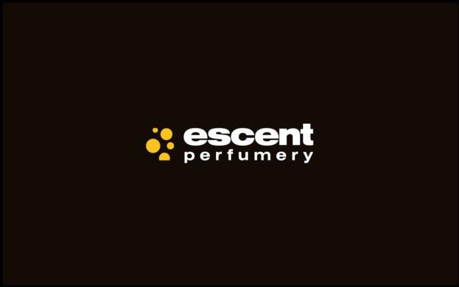 Escent Perfumery logo firmowe projektowanie logo firmy znaków firmowych księgi znaku rewitalizacje rebranding logo Agencja brandingowa Moweli Creative