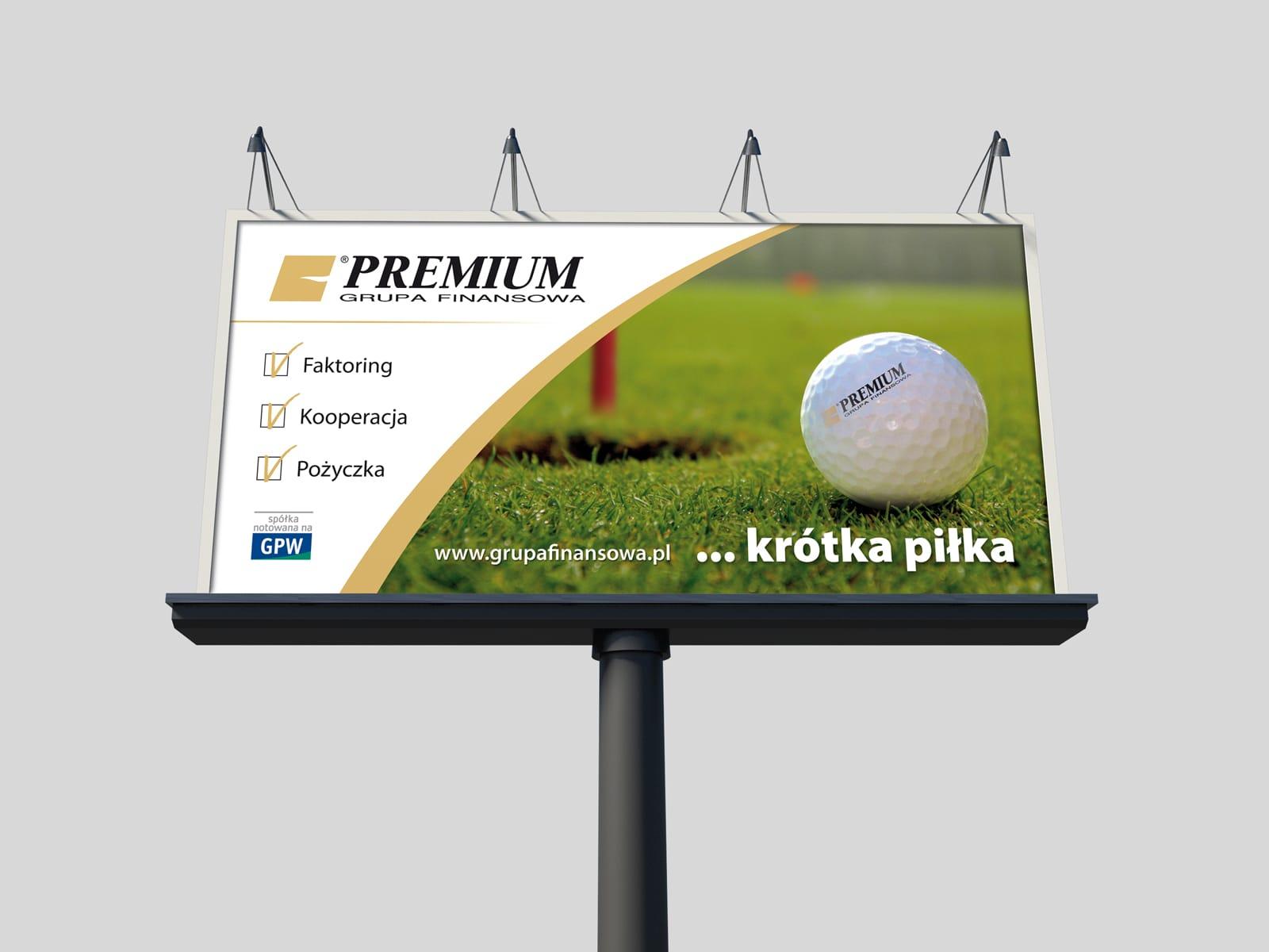 Grupa Finansowa Premium S.A. billboard