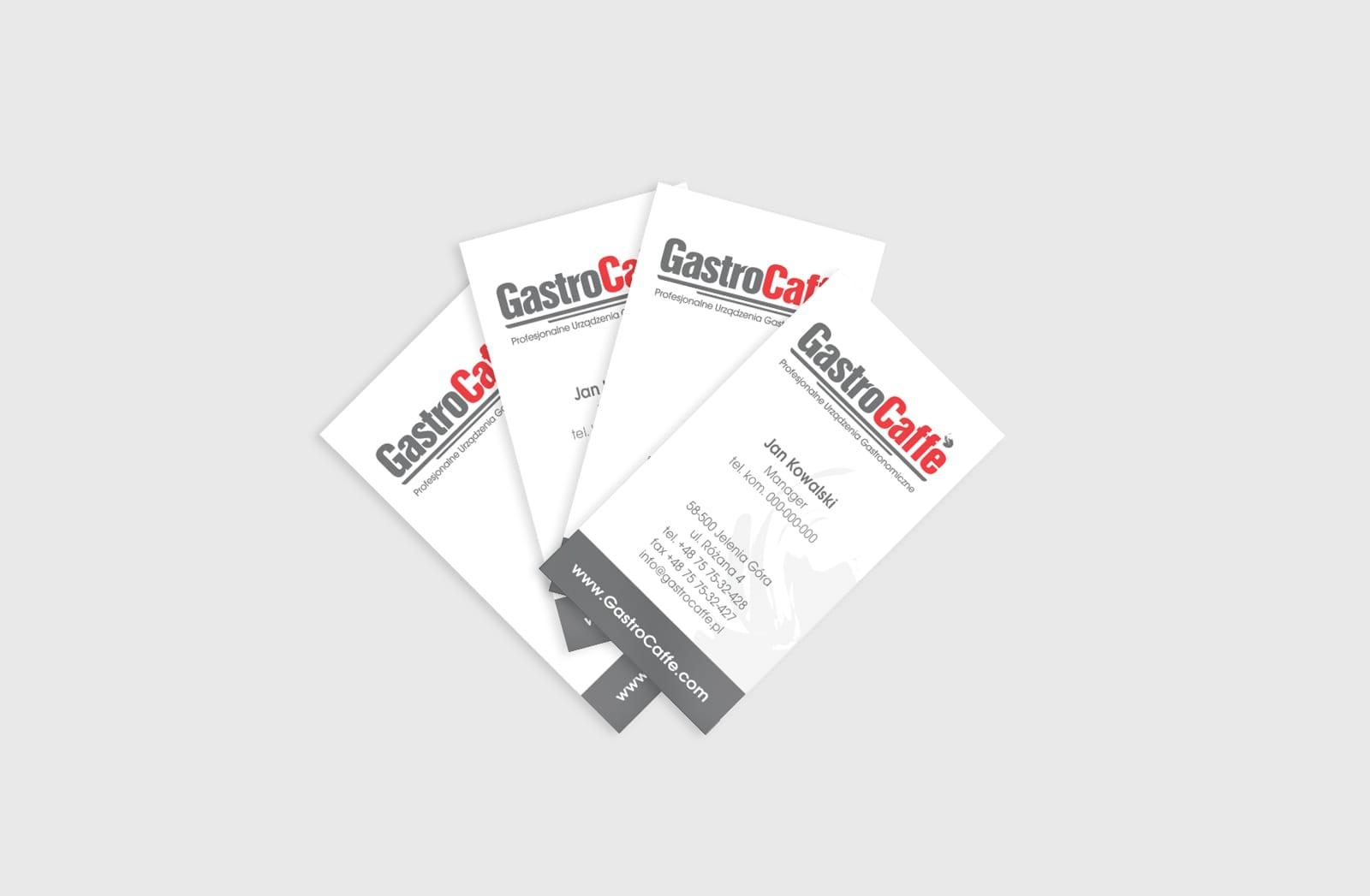 Gastrocaffe identyfikacje wizualne projektowanie logo firmowych Agencja brandingowa Moweli Creative