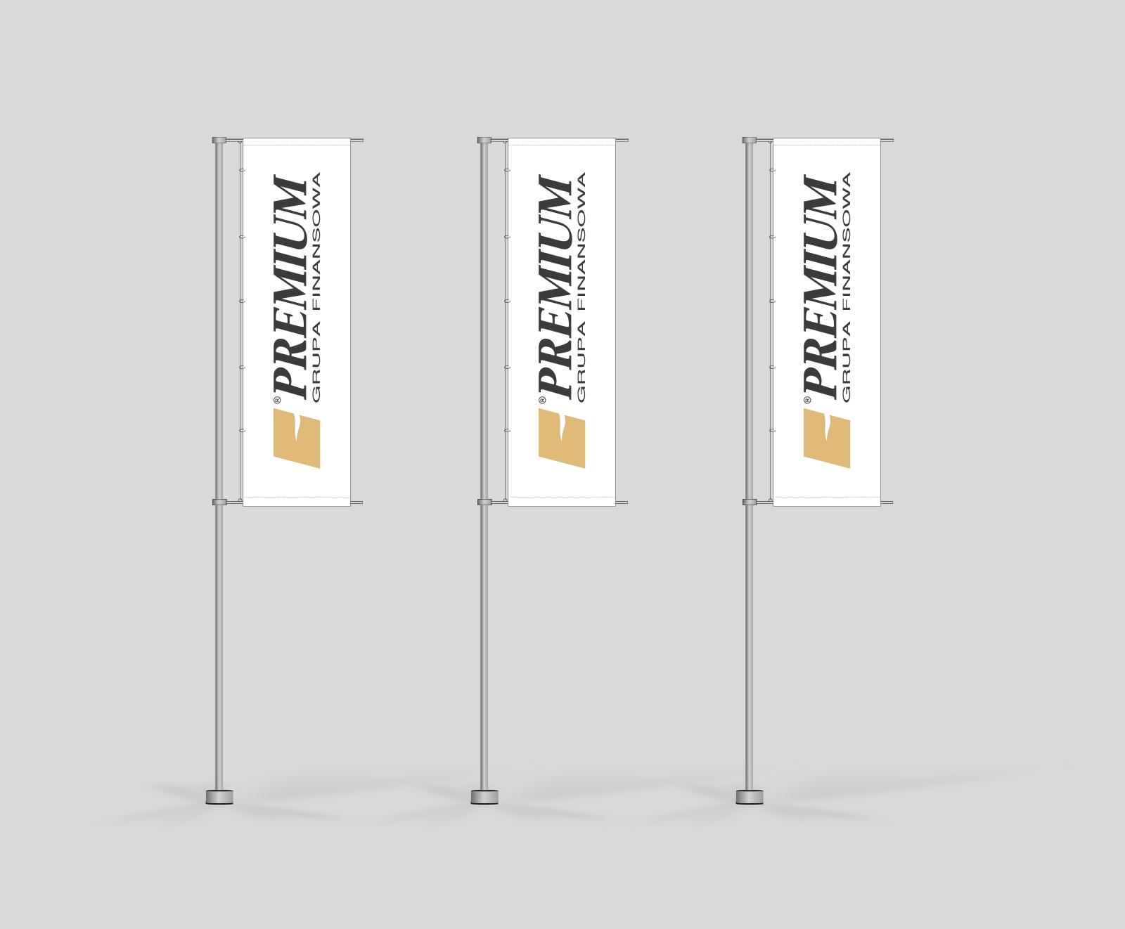 Grupa Finansowa Premium SA flagi reklamowe
