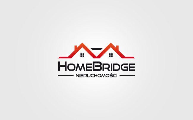 Home Bridge Nieruchomosci projektowanie logo firmy znaków firmowych księgi znaku rewitalizacje rebranding logo Agencja brandingowa Moweli Creative