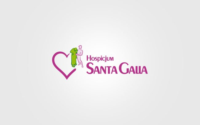 Hospicjum Santa Galla logo firmowe