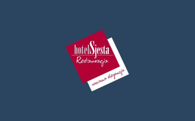 Hotel Sjesta logo firmowe projektowanie logo firmy znaków firmowych księgi znaku rewitalizacje rebranding logo Agencja brandingowa Moweli Creative