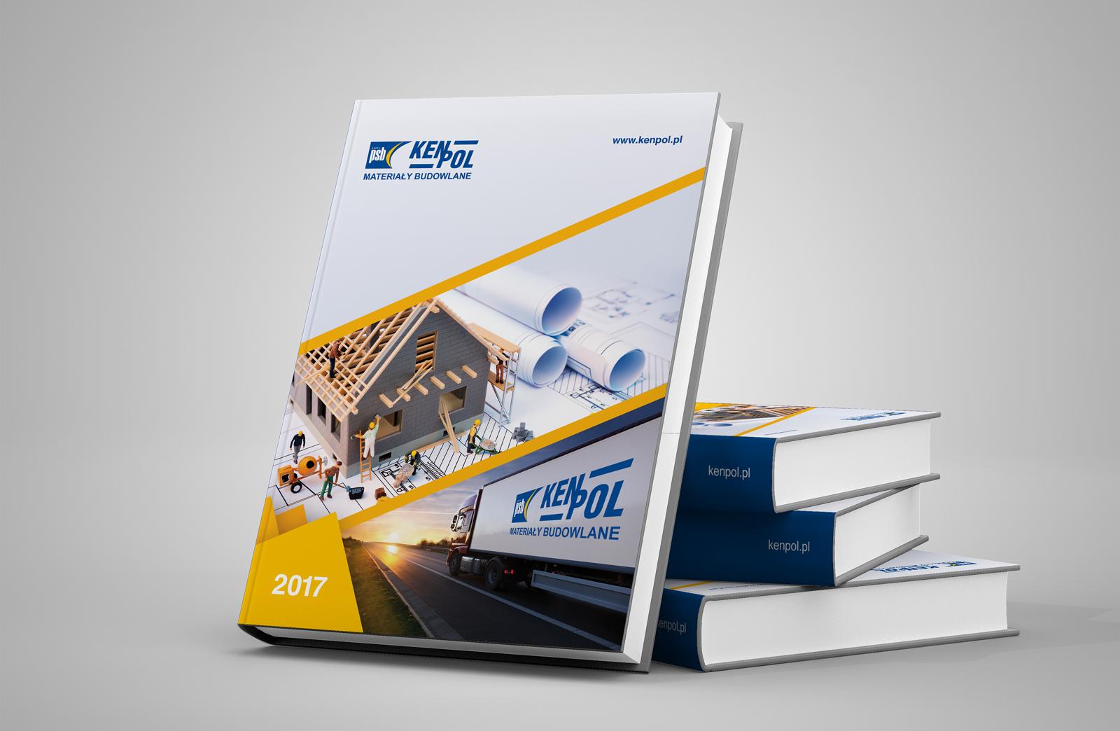 Kenpol materiały budowlane kalendarz ksiazkowy 2017 Agencja brandingowa Moweli Creative