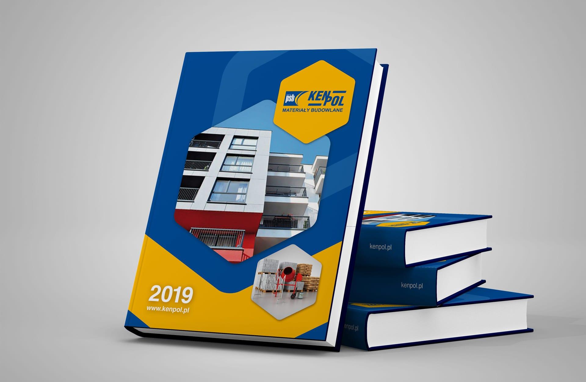 Kenpol kalendarz ksiazkowy 2019 Agencja brandingowa Moweli Creative projektowanie logo kalendarzy ksiegi znaku Dabrowa Gornicza Krakow Warszawa