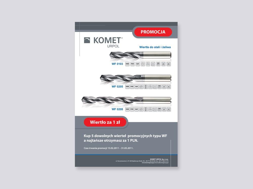 Komet Urpol broszury promocyjne