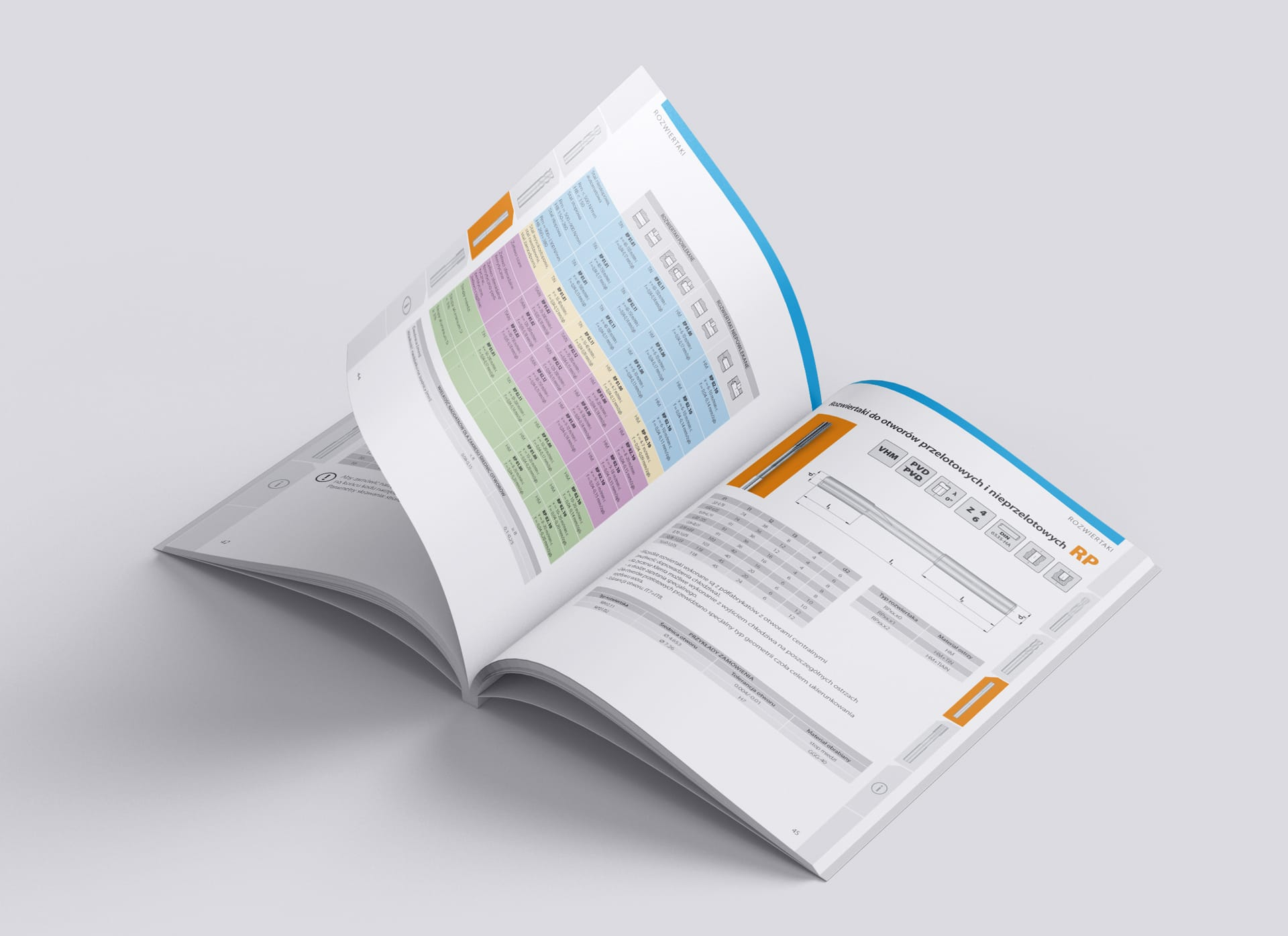 Komet Urpol zestaw brandingowy, katalogi produktowe 68 str., broszury reklamowe, reklamy prasowe