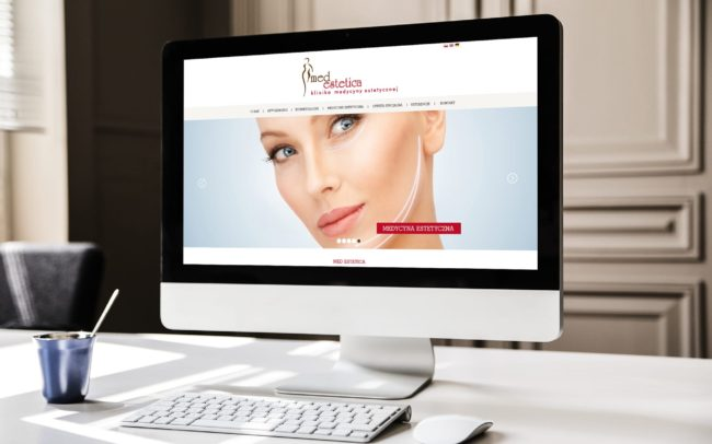 Medestetica strona internetowa