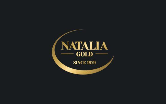 Natalia Gold logo firmowe projektowanie logo firmy znaków firmowych księgi znaku rewitalizacje rebranding logo Agencja brandingowa Moweli Creative