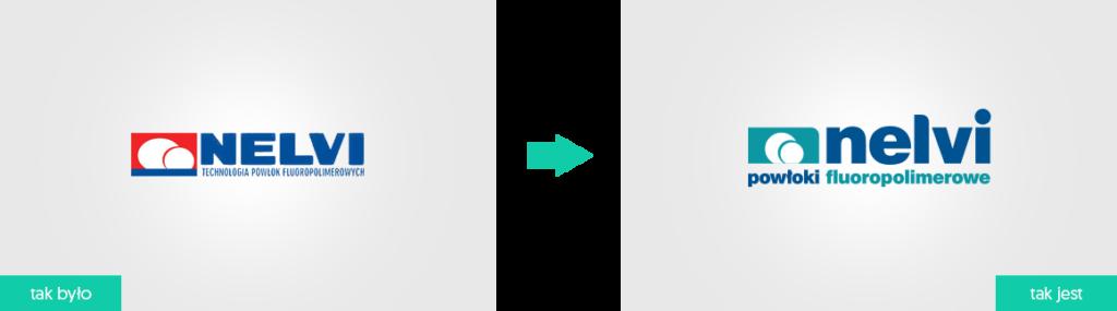 nelvi logo rebranding
