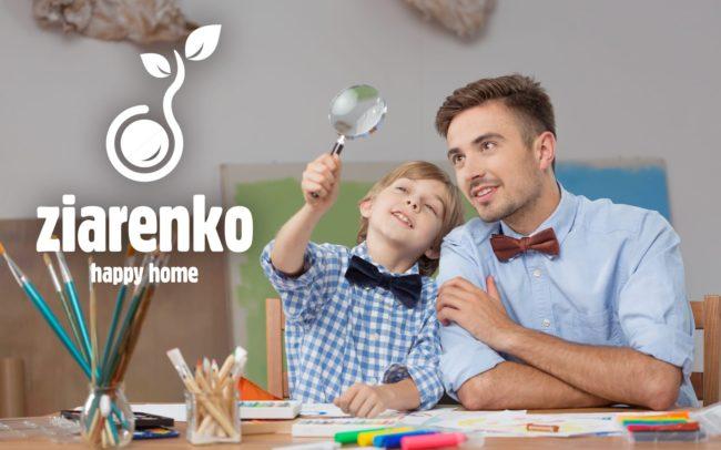 Projektowanie logo dla firmy Przedszkole Montessori Ziarenko Agencja brandingowa Moweli Creative
