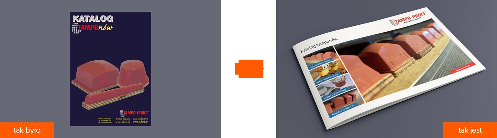 Rebranding katalogi Tampo Profi