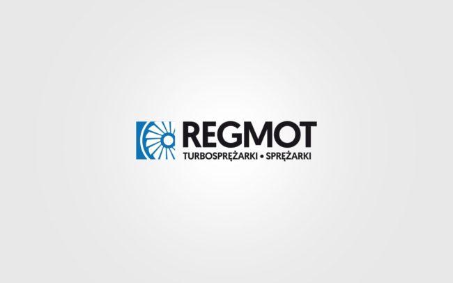 Regmot logo firmowe projektowanie logo firmy znaków firmowych księgi znaku rewitalizacje rebranding logo Agencja brandingowa Moweli Creative