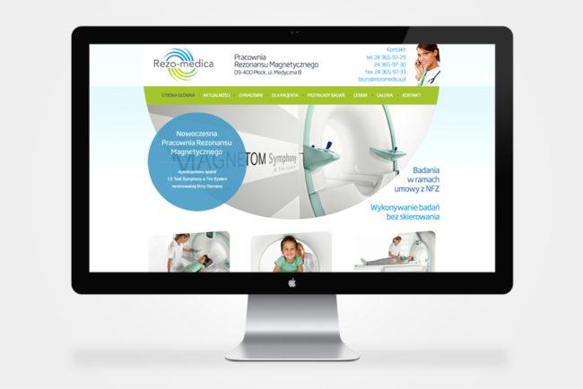 firmowa strona internetowa Rezo-Medica