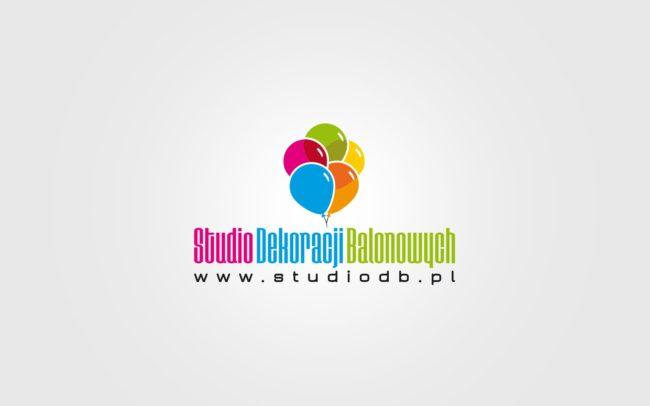 Studio dekoracji balonowych logo firmowe projektowanie logo firmy znaków firmowych księgi znaku rewitalizacje rebranding logo Agencja brandingowa Moweli Creative