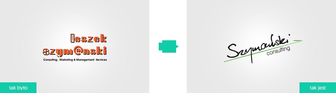 rebranding logo dla firmy Szymański Consulting