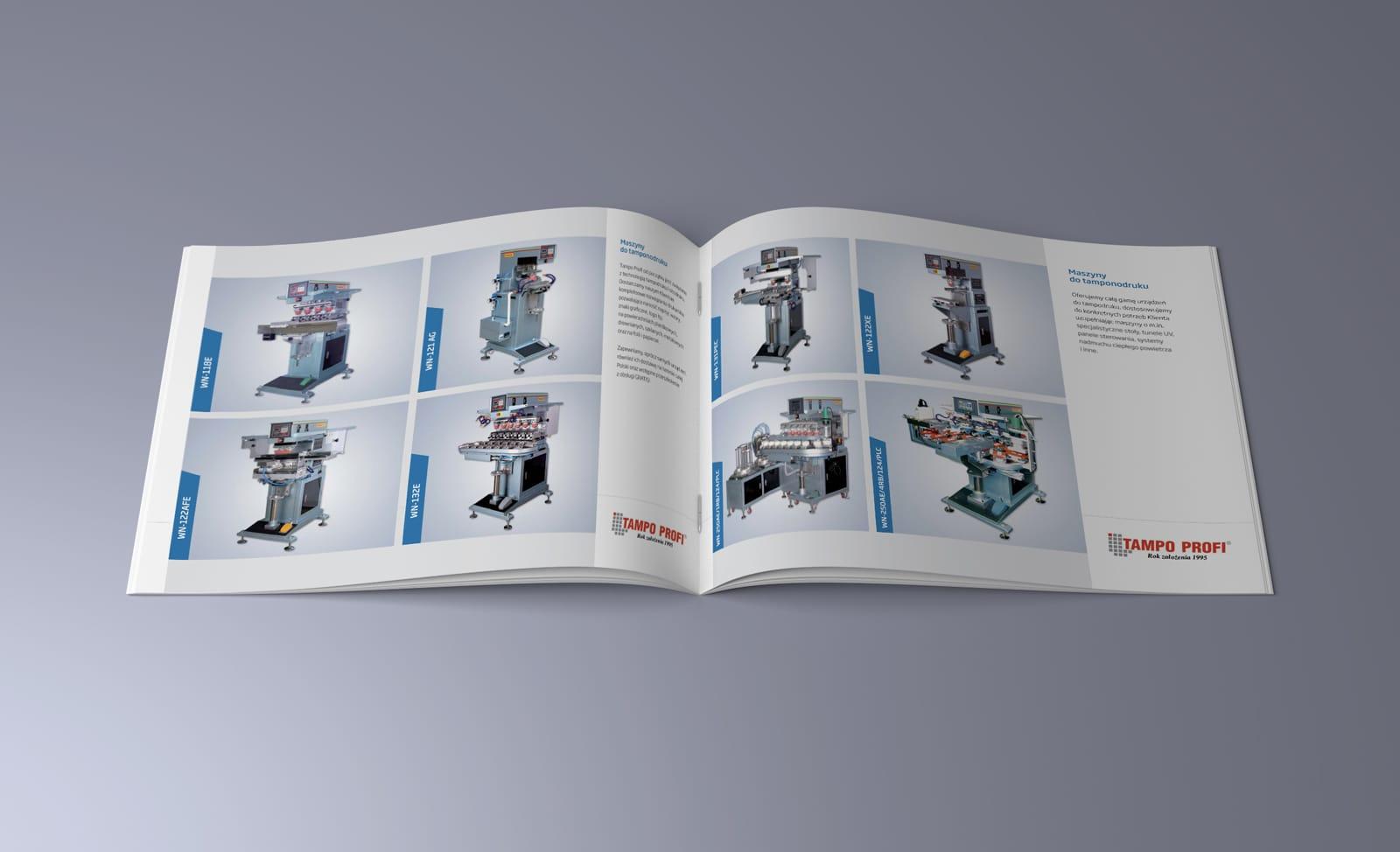 TampoProfi katalog reklamowy Agencja brandingowa Moweli Creative