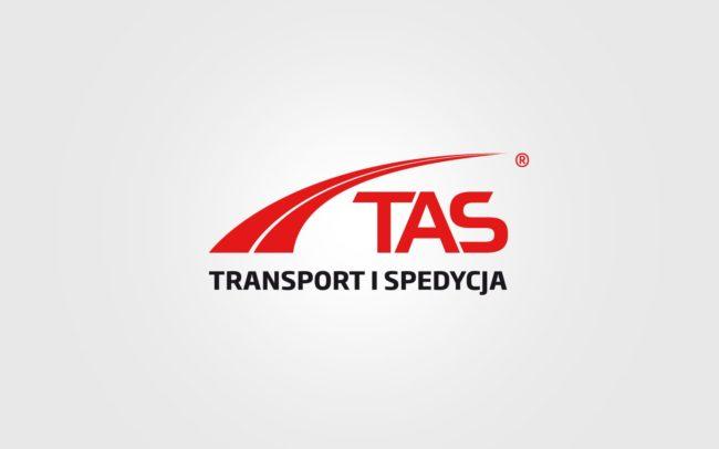 TAS Transport Spedycja logo firmowe