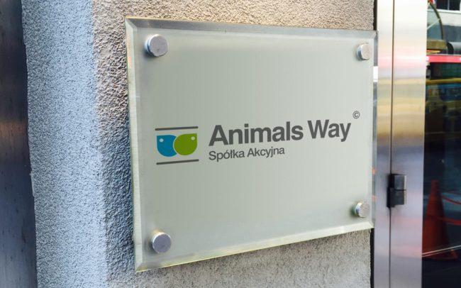 Animals Way Apółka Akcyjna logo firmowe