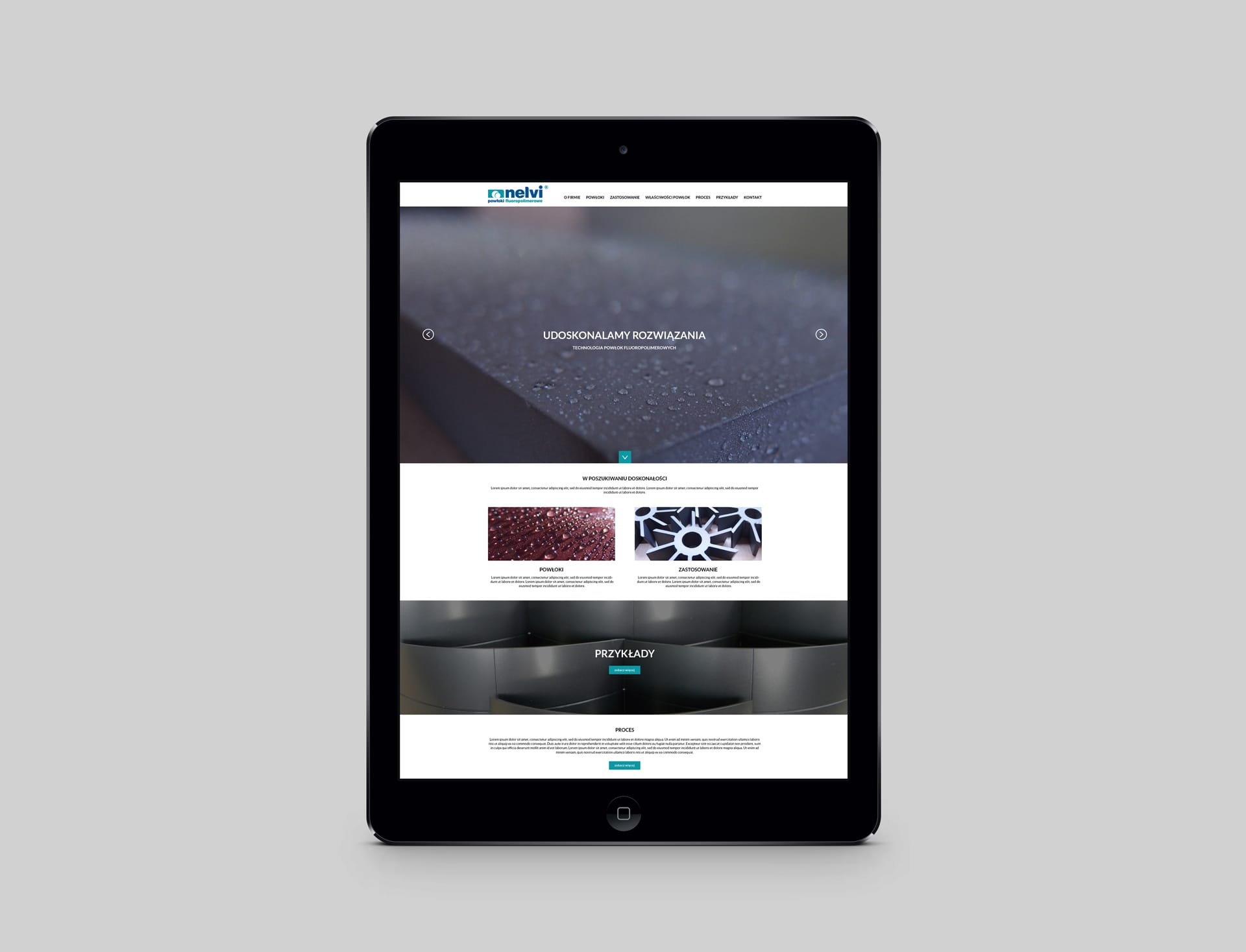 Nelvi strona internetowa Agencja brandingowa Moweli Creative