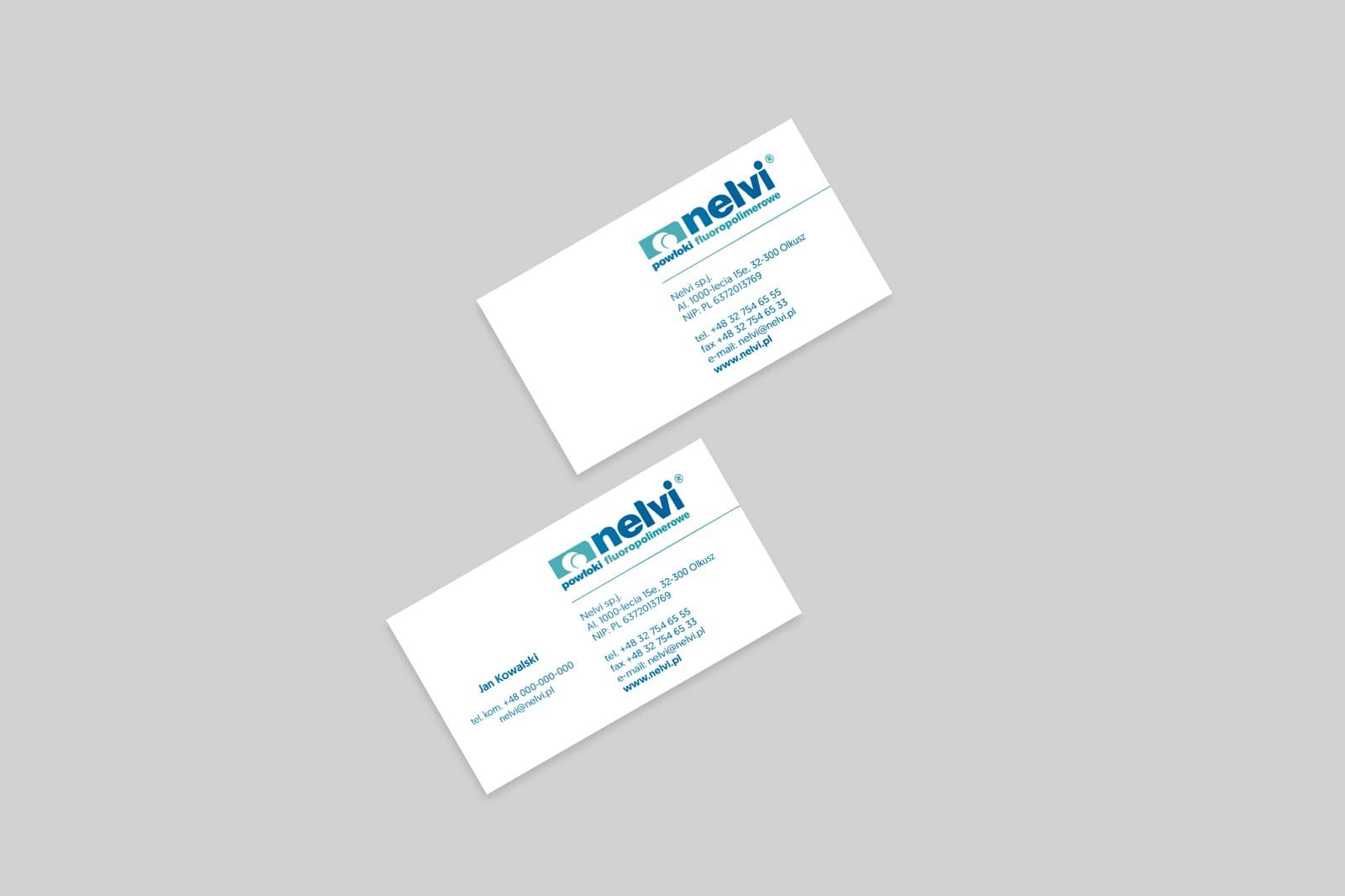 Nelvi identyfikacja wizualna branding Agencja brandingowa Moweli Creative