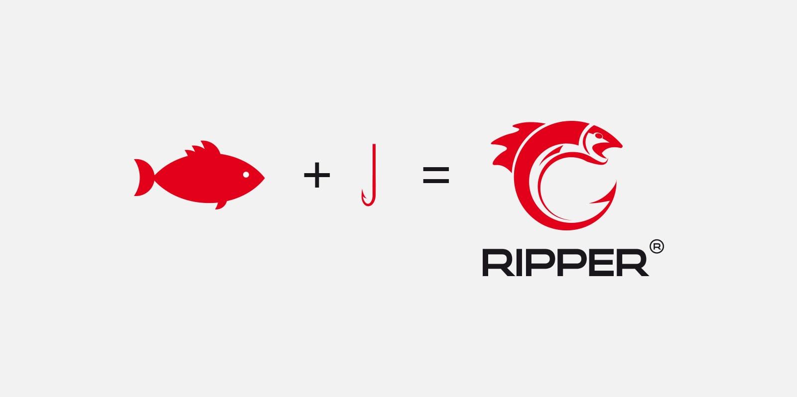 Ripper projektowanie logo marki odzieżowej Agencja brandingowa Moweli Creative