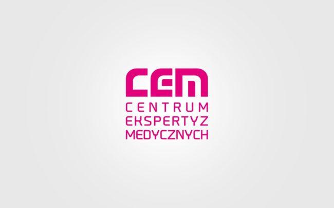 Centrum Ekspertyz Medycznych projektowanie logo firmowych Agencja brandingowa Moweli Creative Dąbrowa Górnicza, Katowice, Warszawa, Kraków