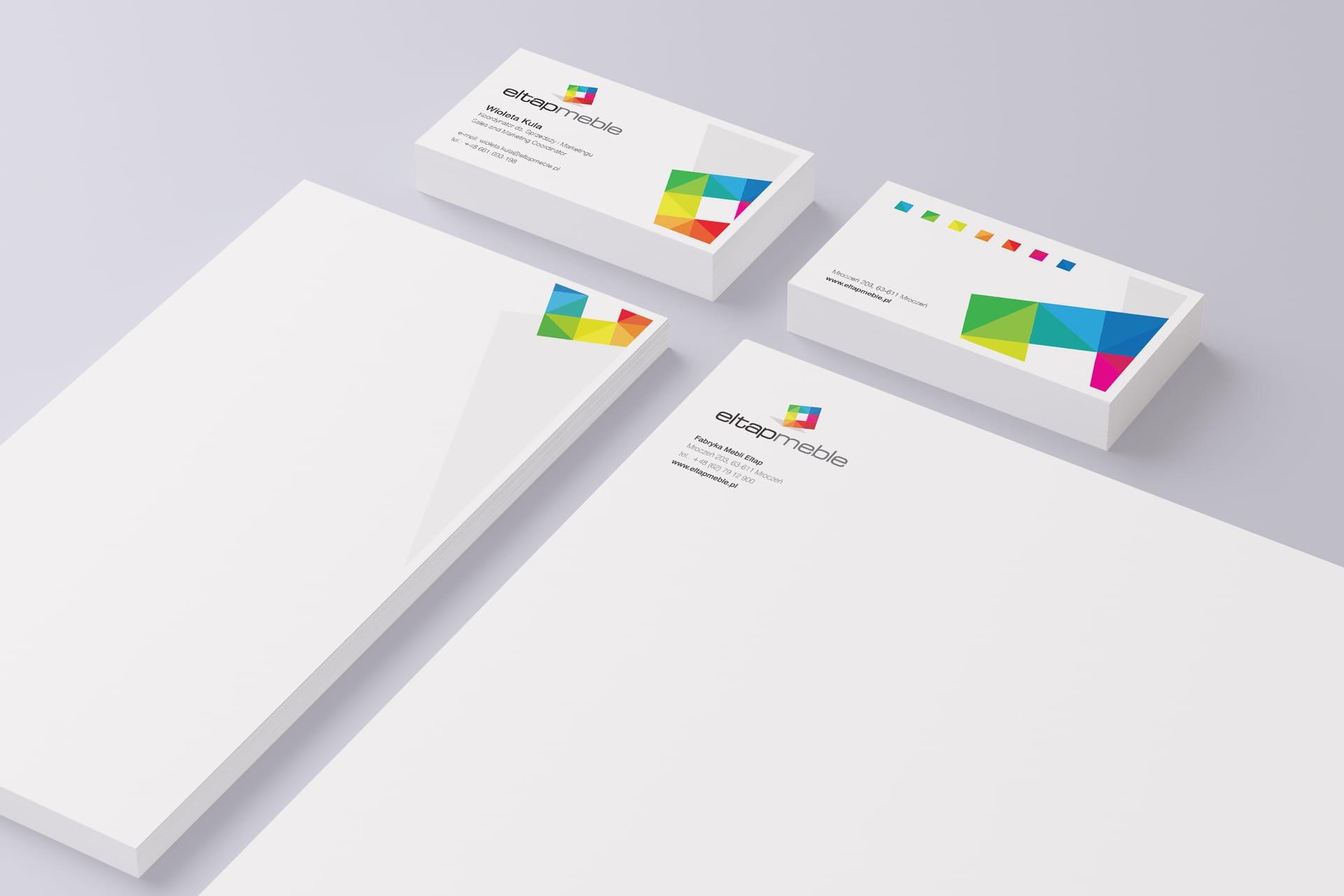 Eltap Meble akcydensy projektowanie identyfikacje wizualne logo firmowe katalogi reklamowe responsywne strony internetowe Agencja brandingowa Moweli Creative Dąbrowa Górnicza Kraków Wrocław Gdańsk Warszawa
