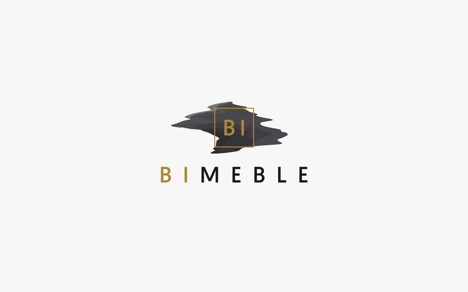BI Meble projektowanie logo firmowych akcydensy firmowe tworzenie identyfikacja wizualna projekty księga znaku Agencja brandingowa reklamowa Moweli Creative Dąbrowa Górnicza Katowice Kraków Wrocław Warszawa
