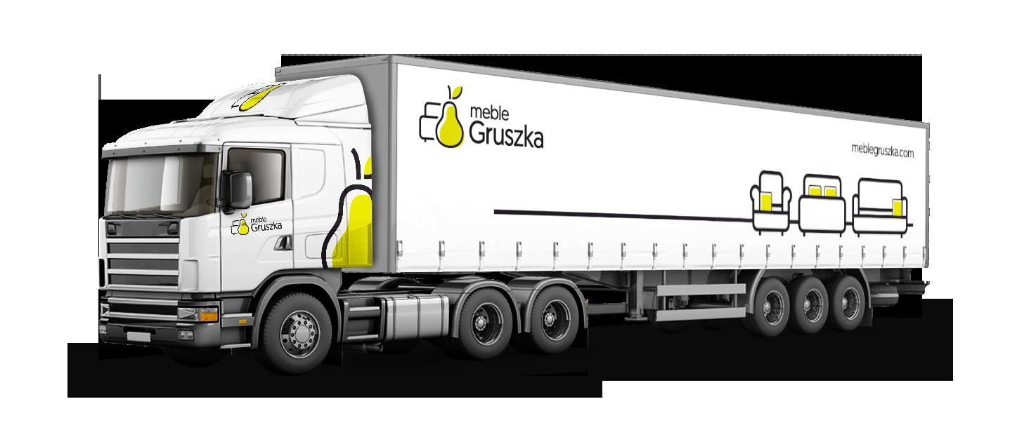 Meble Gruszka okleina wzornictwo samochody firmowe-Agencja-brandingowa Moweli Creative