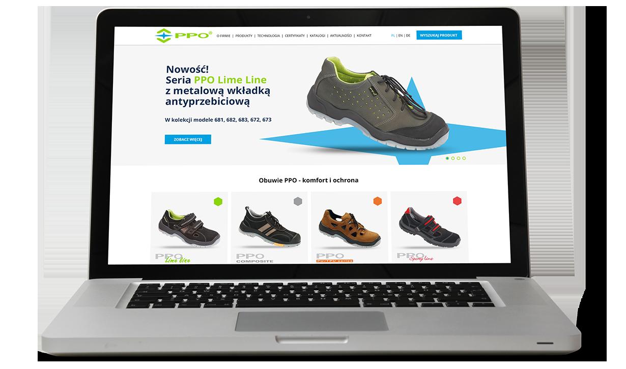 PPO strona internetowa Agencja-brandingowa Moweli Creative